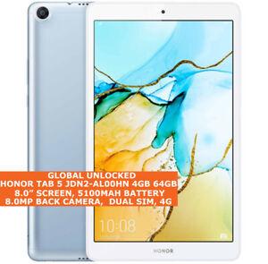 "HUAWEI HONOR TAB 5 JDN2-AL00HN 4gb 64gb Octa Core 8.0"" Wi-Fi Dual Sim Android 9"