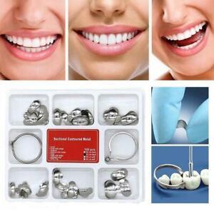 100x-Dental-Profilierte-Metallmatrizen-Matrix-2-Ring-No-1-398lmws-G6L9-Z8K6