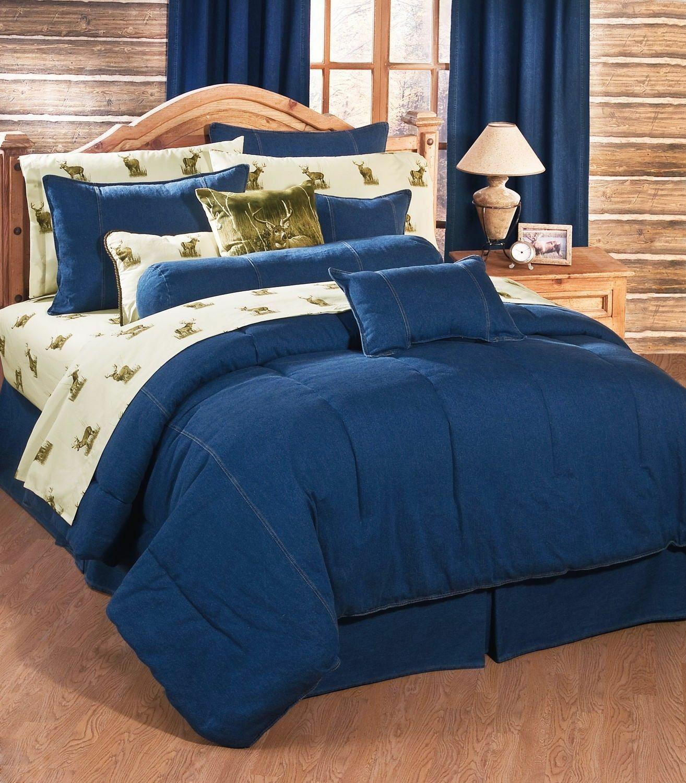 Karin Maki American Denim Bedding Comforter  Six Größes