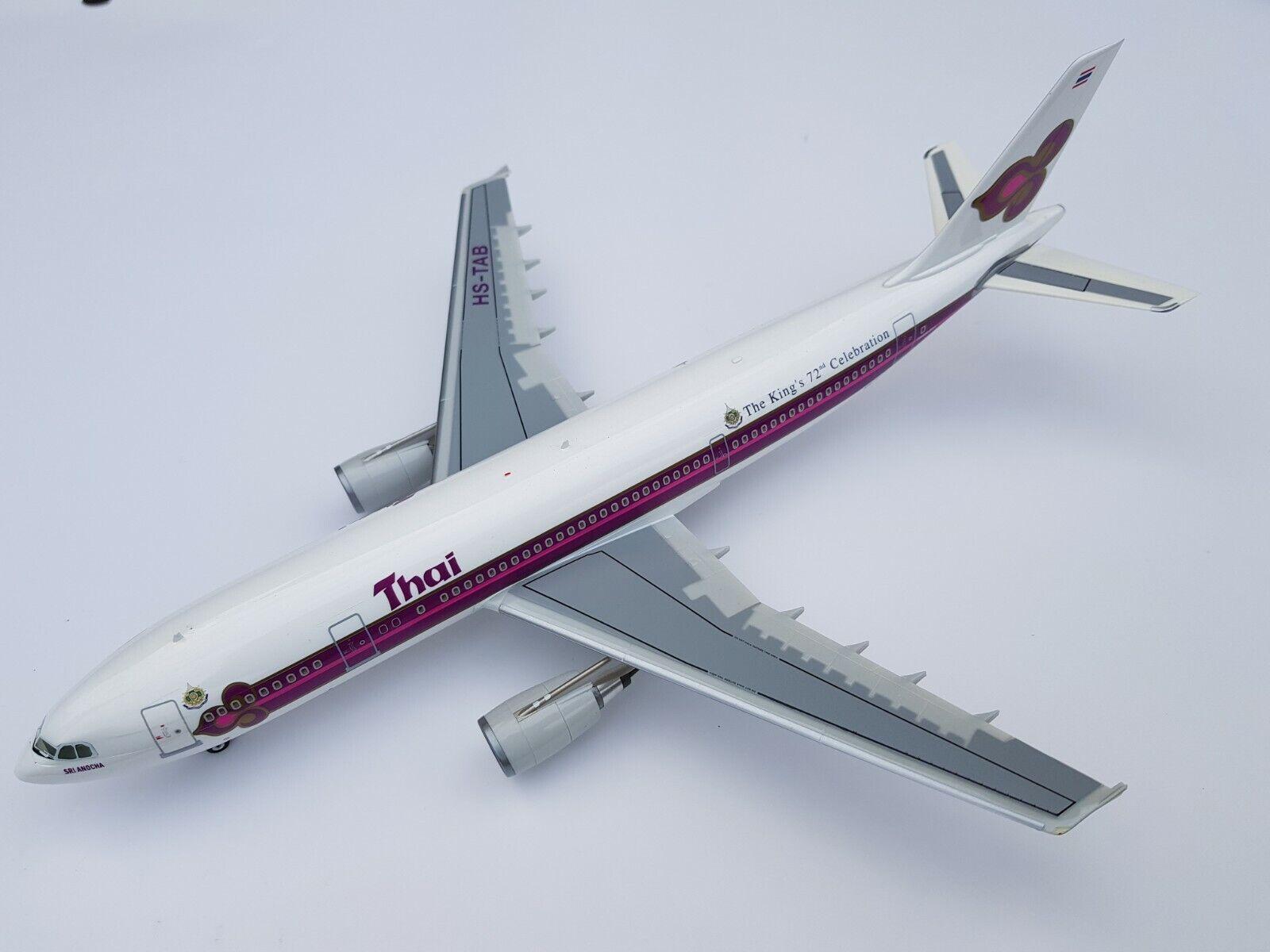 Herpa premium 1 200 thai airways airbus a300-600 Rare