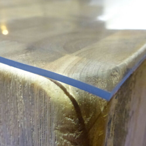 Table Diapositive 80 cm x 110 cm Nappe Table Film Protecteur Protection PVC 2 mm transparent