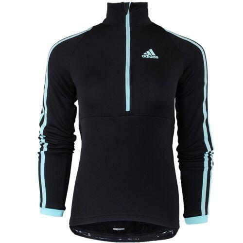 Adidas Response Cycling Jacke W Damen-Radfahrtrikot schwarz Radsport Trikot NEU
