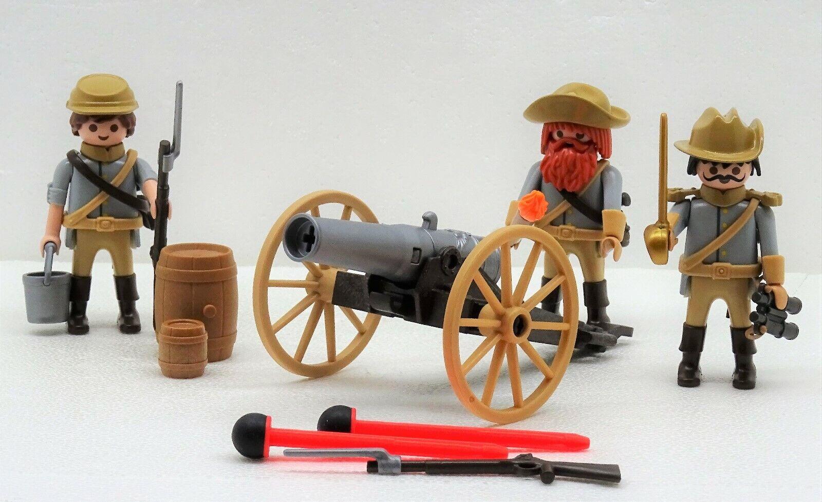 SÜDSTAATLER   BUTTERNUT   KANONE Playmobil Artillerie   Nordstaatler ACW CSA RAR  | eine breite Palette von Produkten