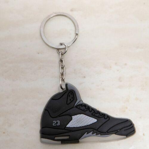 Air Jordan Metallic 5/'s Retro Sneaker Keychain