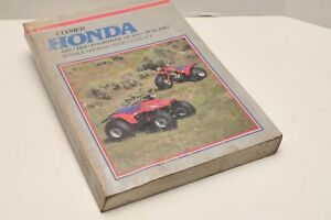 Honda-ATC-TRX-and-Fourtrax-70-125-1970-1987-by-Ed-Scott-1985-Silver-Cover