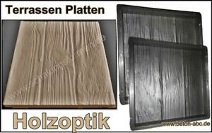 Schalungsform Giessform Fur Beton Terrassen Platten Holzoptik 30 X
