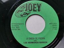 """LOS HERMANOS BARRON - La Diosa de Piedra / Nochecitas Mexicanas 1978 CUMBIA 7"""""""