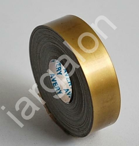 """Avery Embossing Tape Glossy Antique Gold 1//2/"""" x 12 Ft NEW Label Labeling"""