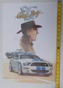 Carroll-Shelby-039-s-85th-Birthday-Party-2008-Poster-by-Bill-Neale-Free-Shipping