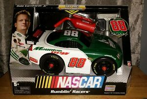"""Fine Nascar Rumblin' Racers Dale Earnhardt Jr #88 Battery Operated Car 10"""" L Electronic, Battery & Wind-up 1990-now"""