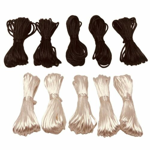 25 Meters DIY Nylon Cords 1.5mm Pacifier Clip Chain Baby Teethers Make Ropes New