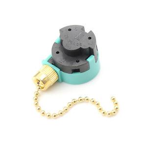 1Pz-Zing-Ear-ZE-268S6-Interruttore-3-velocita-Pull-catena-di-controllKTP
