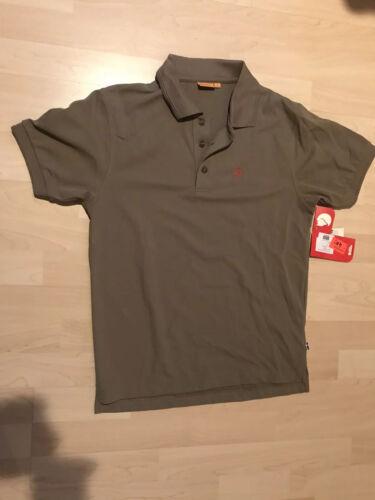 Fjällräven Crowley Pique Shirt Herren Gr S soil Poloshirt