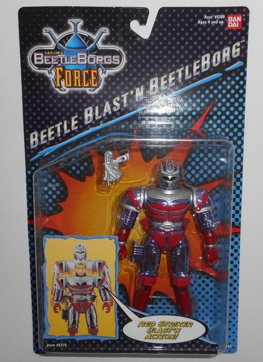 Saban's BeetleBorgs Force Beetle Blast'n Beetleborg BanDai MOSC Rare NIB 1998