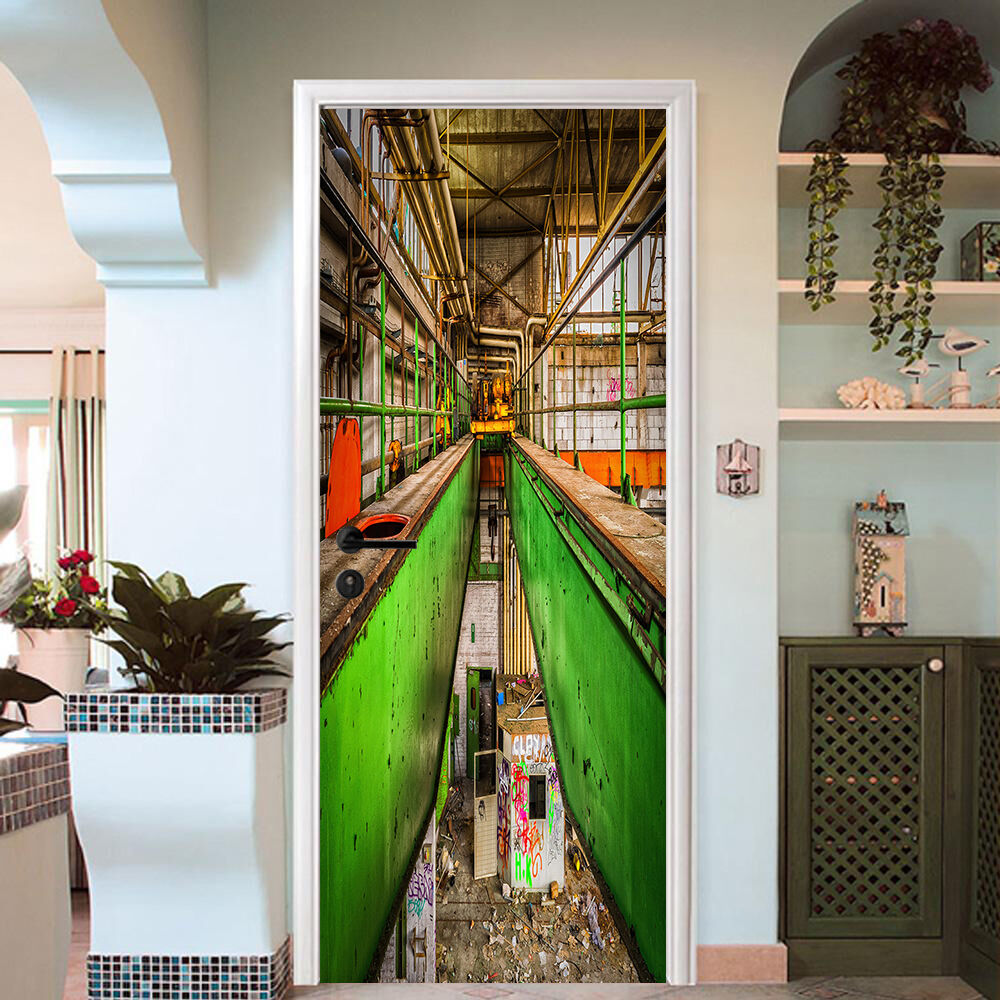 3D Korridor 735 Tür Wandmalerei Wandaufkleber Aufkleber AJ WALLPAPER DE Kyra | Modern Und Elegant  | Outlet Online Store  |