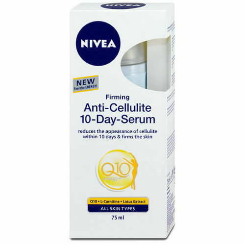 NIVEA Q 10 Anti-Cellulite 10 Day serum 75 ml Lotus extract Energy Complex