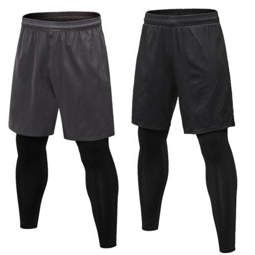 Men Long Casual Sport Pants Gym Slim Fit Trousers Gym Running Jogging Leggings