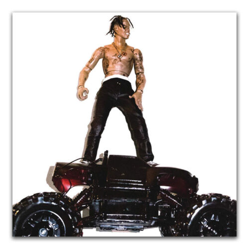 Travis Scott Rodeo Hip Hop Music Album Hot Poster 16x16 24x24 Y-218