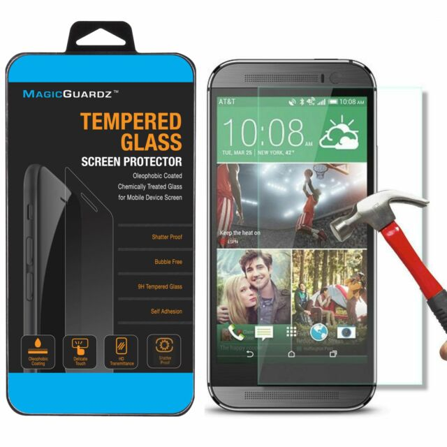 High Quality Premium Real Tempered Glass Screen Protector For HTC One Max