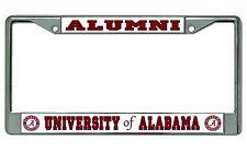 Alabama Crimson Tide Alumni Chrome License Plate Frame