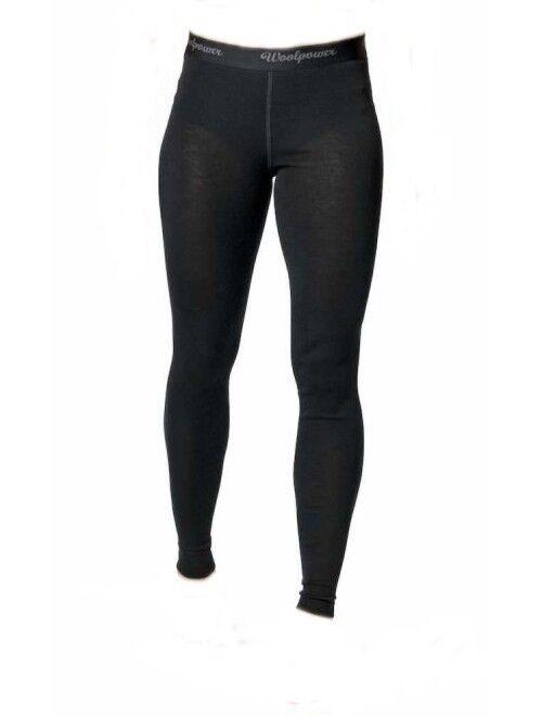 Woolpower Long Johns damen lite  lange Unterhose für Damen  schwarz