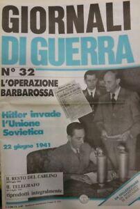 GIORNALI-DI-GUERRA-N-32-L-039-OPERAZIONE-BARBAROSSA