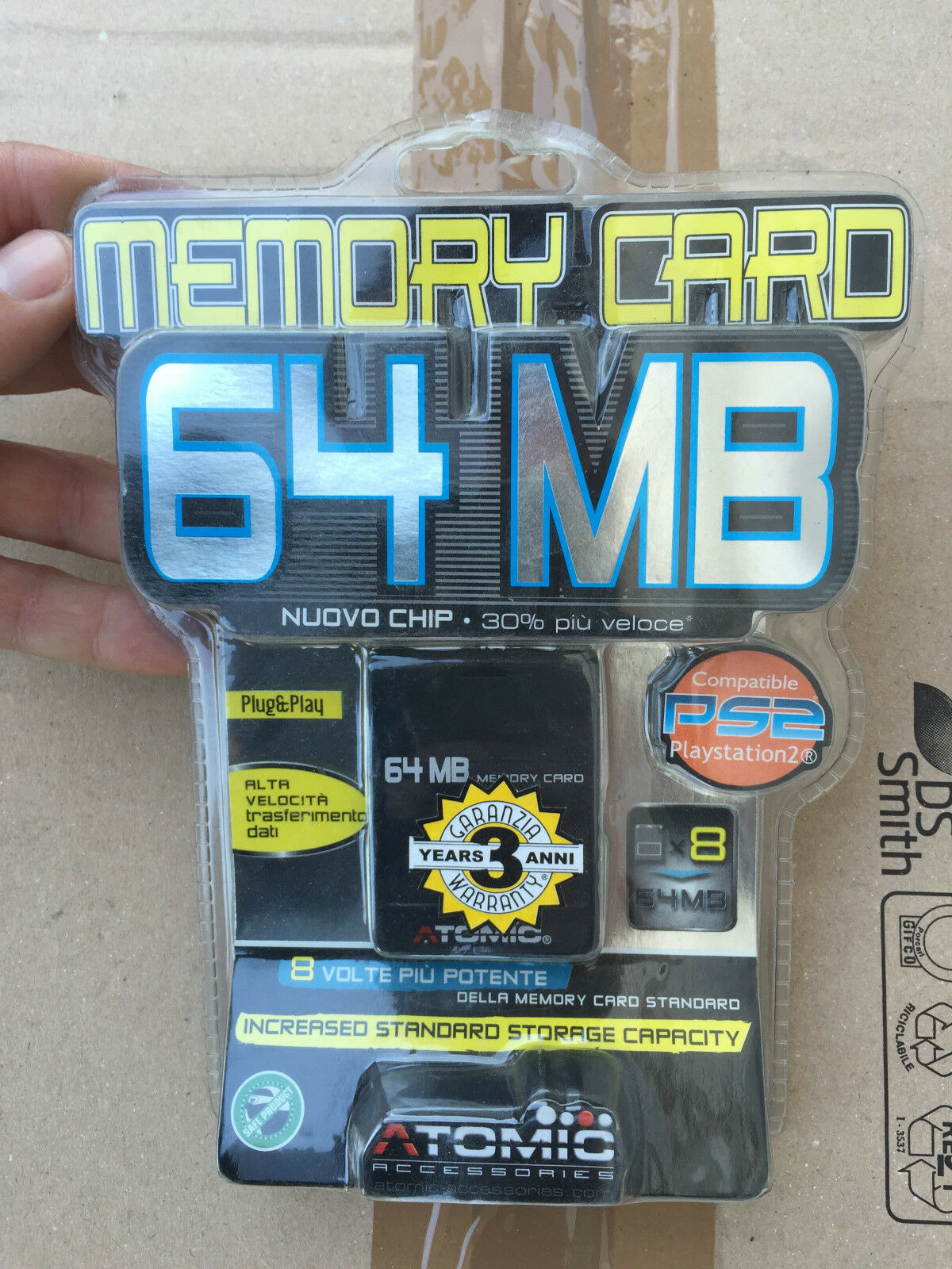 Memory Card 64MB PLAYSTATION sony Brand New