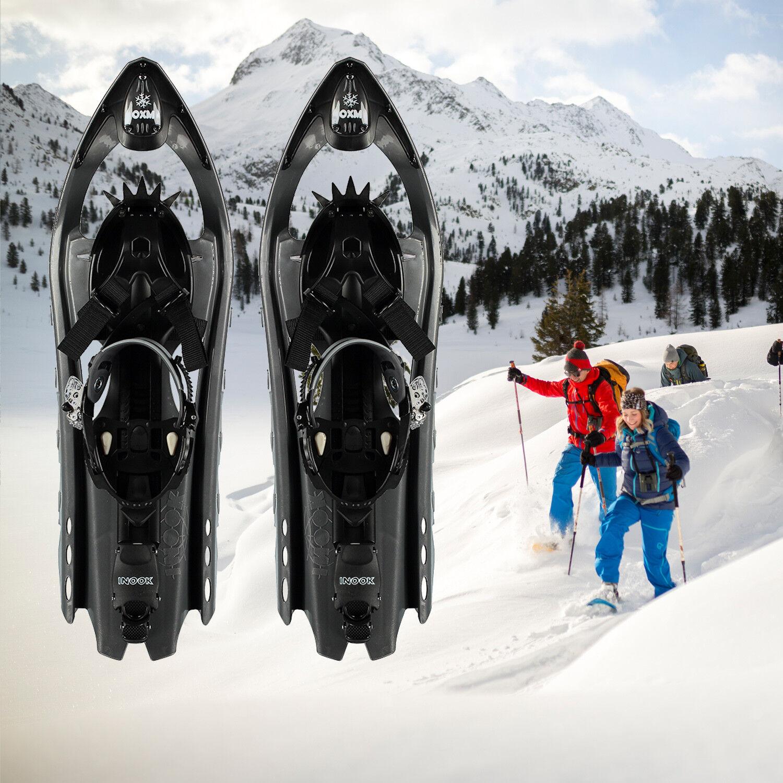 Zapatos de nieve marcas inook OXM Alpin Allround zapato de nieve negro karbon 36-47 UE