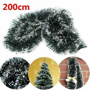 2M-GREEN-Shining-Tinsel-Garland-Christmas-Tree-Decoration-Party-Decorations
