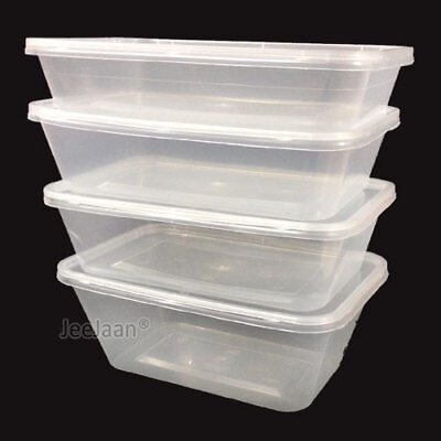Food Containers Plastic Takeaway