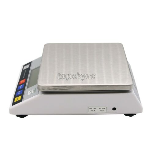10kg x 0.1g Large Digital Scale Food Scale Electronic Lab Weigh APTP457A topUK