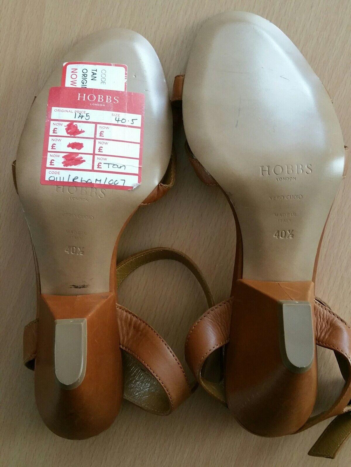 Hobbs 40.5 block heel Sandales Größe 40.5 Hobbs 247582