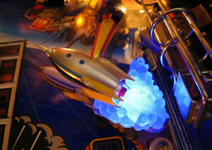 TWILIGHT-ZONE-PINBALL-ROCKET-SHIP-BLUE-BASE-MOD-flipper-machine