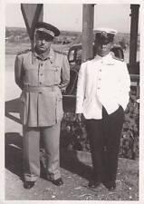 A6966) WW2 CATANIA, MAGGIORE DI MARINA DEL GIAPPONE E PILOTA ITALIANO A GERBINI.