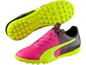 Details about Puma Jr EvoSpeed 5.5 TT Tricks Turf Soccer Shoes Cleats 103630 01 $60 Retail