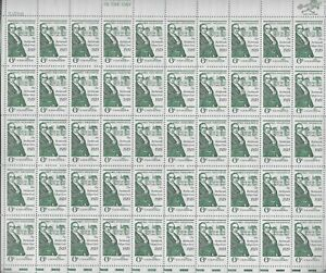 Scott-1380-6-Cent-Daniel-Webster-50-Stamps-XF-MNH-OG-BV-11-50