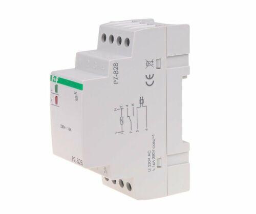 F/&F PZ-828 Flüssigkeitsstandskontrollrelais Füllstand Überwachung Wasser 230V AC