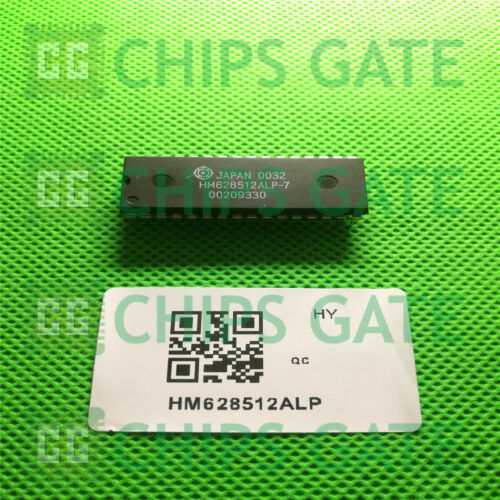 1PCS Hitachi HM628512ALP 628512 512K CMOS SRAM DIP32