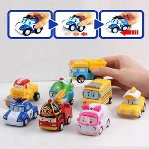 8-Piece-Children-Mini-Robocar-Toy-Set