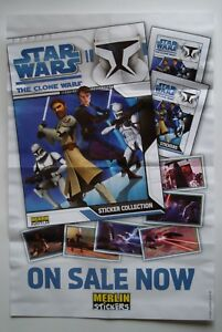 Topps Star Wars The Clone Wars Stickers Complete Set