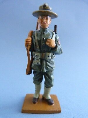 Soldat De Plomb 2 Guerres Mondiales - Sergeant 6th Marine Regiment - Usa 1917