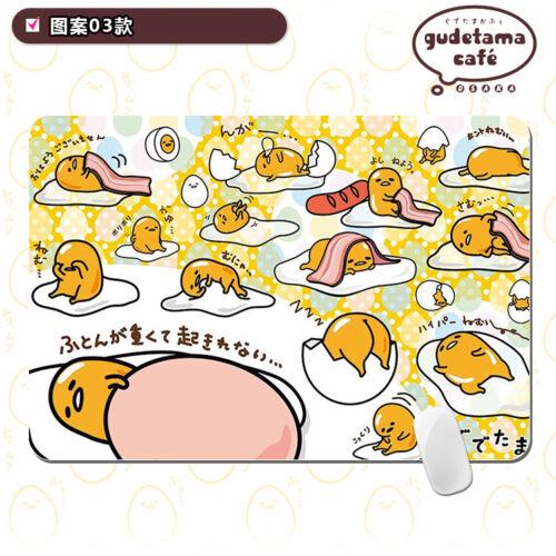 Gudetama Lazy Egg Mouse Pad Animation Mat Table Mat 30*25cm #B