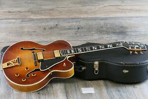 2001 Heritage Super Eagle Carved Archtop Guitar Antique Amber + OHSC
