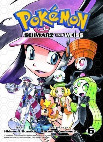 1 von 1 - Pokémon Schwarz und Weiss 06 von Hidenori Kusaka und Satoshi Yamamoto (2014, Ku…