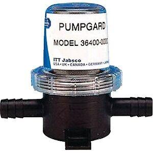 "New Pumpgard In-line Strainer jabsco 3640000000 Ports 1//2/"" ID Hose"