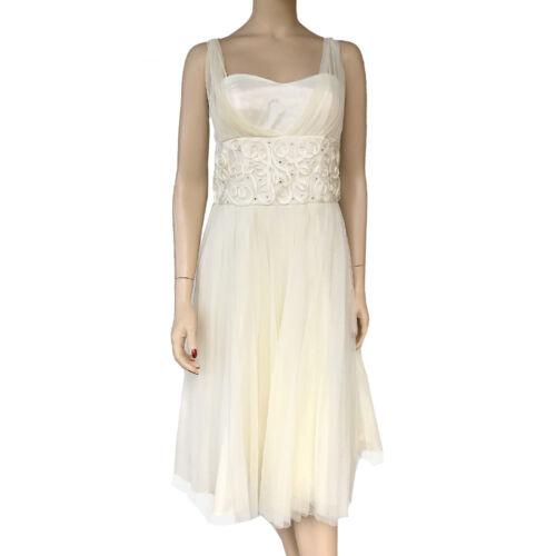 Dress Di Bernell Adam Linda Taglia Nuovo 4 Vintage Betsy qTFxRR