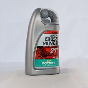 motorex cross power 2t 1 liter flasche l motor l. Black Bedroom Furniture Sets. Home Design Ideas