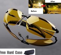 High Quality Night Vision Polarized Uv400 Driving-cycling Glasses Sunglasses