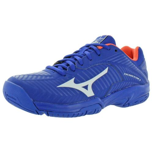 Mizuno Girls Exceed Star Jr 2 AC Sports Low-Top Tennis Shoes Sneakers BHFO 9968