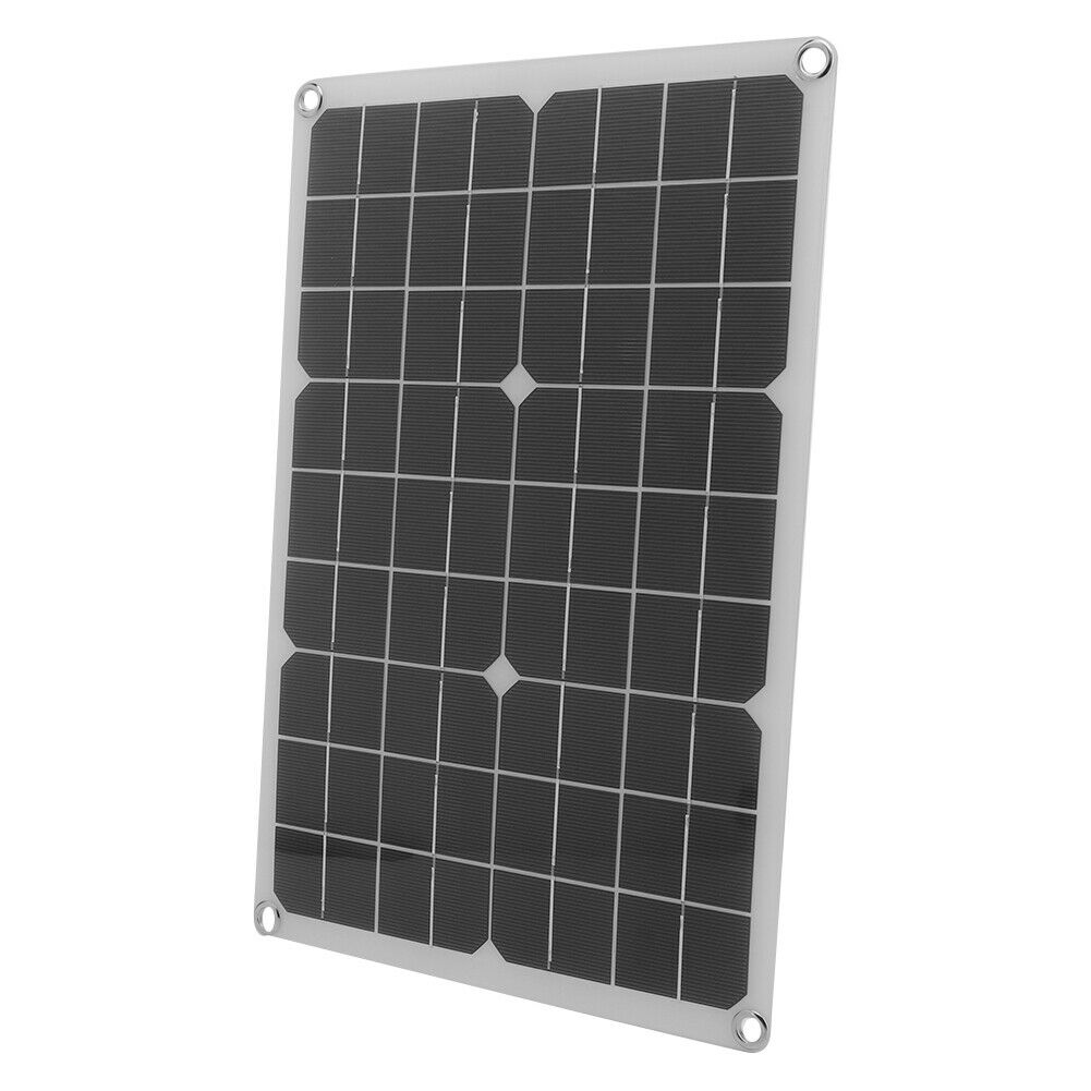 Solar Panel Charger Solar Power Flexible Plate For DIY Backpack With Dual Output
